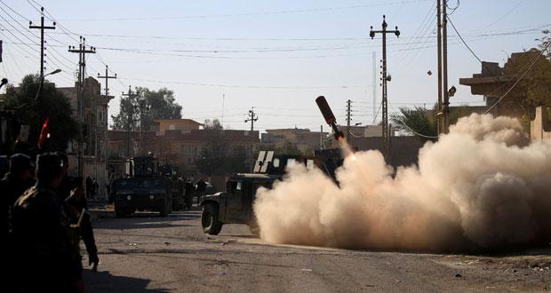 القوات العراقية تعلن تحرير 80 % من الجانب الشرقي للموصل