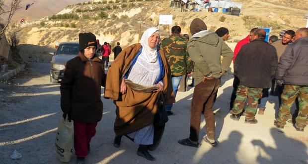 سوريا : اتفاق مبدئي على دخول ورشات الصيانة إلى نبع عين الفيجة وخروج المسلحين الغرباء