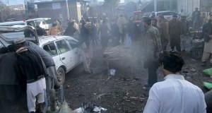 باكستان: عشرات القتلى في الاعتداء على سوق شعبي