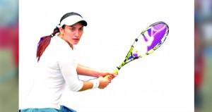 فاطمة النبهانية تسعى للارتقاء بتصنيفها الدولي في قائمة التنس العالمي للمحترفات