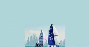 فريق الموج يستهدف المركز الأول في سباق الطواف العربي للإبحار الشراعي إي.أف.جي