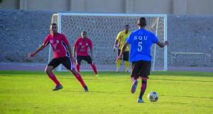 تواصل بطولة جامعة السلطان قابوس لثمانيات كرة القدم للمؤسسات الحكومية والخاصة