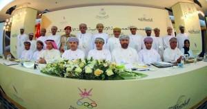 الجمعية العمومية تمنح الثقة وتزكي المجلس الجديد للجنة الأولمبية العمانية