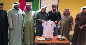 اللاعب خالد اليعقوبي لـ( الوطن الرياضي) : حلم أي لاعب الاحتراف والدوري الكويتي أولى خطواتي في مسيرتي الاحترافية