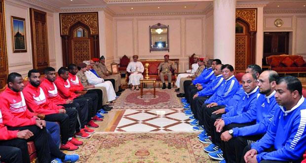 وزير المكتب السلطاني يكرم أبطال المونديال العسكري (السيزم) في نسخته الثانية