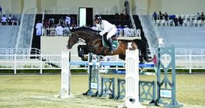 تألق الفروسية الأولمبي وخيالة الشرطة والخيالة السلطانية في الجوائز الكبرى لقفز الحواجز