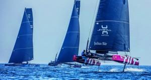 السلطنة تستضيف الجولة الافتتاحية لبطولة قوارب الجي.سي32 في فبراير القادم