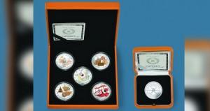 البنك المركزي العماني يصدر 5 عملات فضية تذكارية