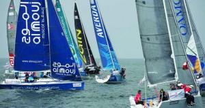 أمين عام وزارة الخارجية يرعى انطلاق النسخة السابعة لسباق الطواف العربي للإبحار الشراعي