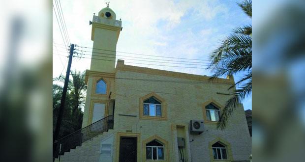 """افتتاح مسجد قرية """"عباية """" بقريات"""