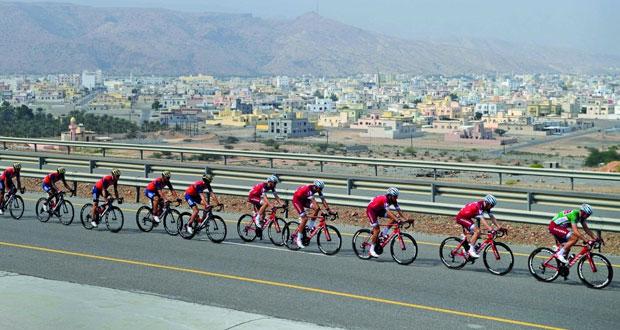الدنماركي أندرسون بطل المرحلة الثالثة من طواف عمان