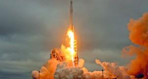 إطلاق صاروخ فالكون 9 وعودته بنجاح إلى الأرض بعد 9 دقائق
