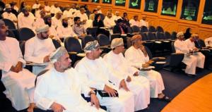 مناقشة توصيات لجنة التحكيم في جائزة السلطان قابوس للإجادة في الخدمات الحكومية الإلكترونية