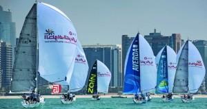 """انطلاقة قوية ومثيرة للمرحلة الرابعة """"أبوظبي ـ الدوحة"""" لمسافة 160 ميلا بحريا"""