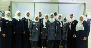 السلطنة تشارك في المخيم العربي الـ 22 للمرشدات بمصر