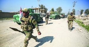 القوات العراقية تدخل مطار الموصل ونزوح مئات المدنيين مع انطلاق الهجوم