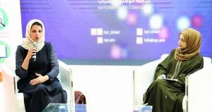 فعاليات أدبية بركن اللجنة الوطنية للشباب بالمعرض