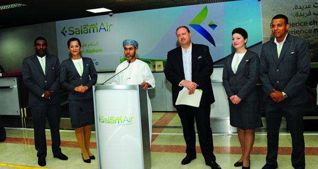 """""""طيران السلام"""" يدشن أولى رحلاته الدولية إلى دبي"""