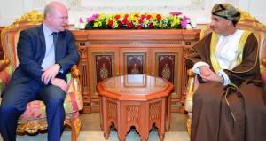 فهد بن محمود يستقبل سفير الولايات المتحدة الأمريكية