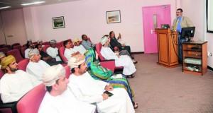 تدشين مشــروع الحفر الدولي لصخور أفيوليت عمان