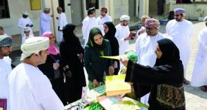 وزيرة التربية والتعليم تزور مدرستي أنس بن النضر والسيب للتعليم الأساسي بمحافظة مسقط