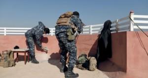 القوات العراقية تعزز مواقعها إلى جنوب الموصل وتدمر رتلا لـ (داعش) قرب المطار
