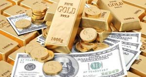ارتفاع الدولار يدفع الذهب للهبوط والضبابية تدعم الاسعار