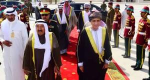 أمير الكويت يغادر السلطنة مُعربا عن شكره لجلالة السلطان