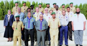 افتتاح أعمال الدورة الإقليمية العربية التطبيقية لتنمية قدرات المدربين الكشفيين