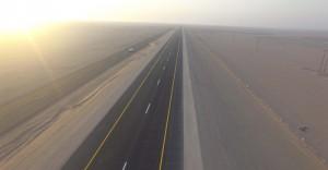 تشغيل 109 كيلومترات من طريق سناو – محوت – الدقم