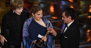 """""""مونلايت"""" يحصد """"أوسكار"""" أفضل فيلم بعد خطأ فادح وحضور سوري وايراني في ليلة الجوائز"""
