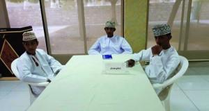 نادي عمان يفوز بالمركز الأول للمسابقة الثقافية على مستوى محافظة مسقط.. وقريات ثانيا