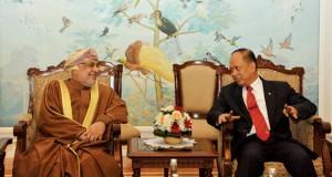 بتكليف من جلالة السلطان رئيس مجلس الدولة يشارك في قمة المحيط الهندي