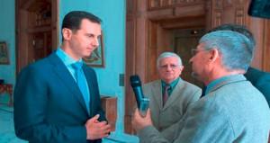 الأسد يؤكد أن الحصار الغربي والأوروبي ضد سوريا يلعب دوراً مكملا للدمار والقتل