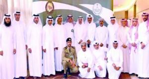 اجتماع رؤساء الاتحادات الرياضية الشرطية بدول مجلس التعاون الخليجي
