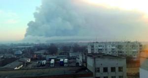 أوكرانيا: انفجار (تخريبي) بأكبر مستودع ذخيرة .. وإجلاء 20 ألف مدني