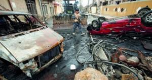 العراق: عشرات القتلى بتفجير منازل مفخخة جنوب الموصل