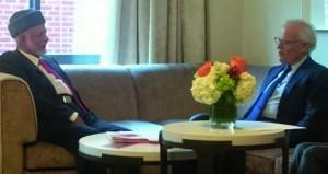 ابن علوي يلتقي نائب وزير الخارجية الأميركي