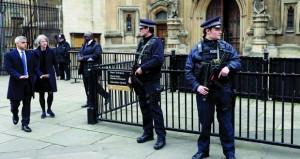 بريطانيا توقف مشتبها بهما آخرين على خلفية اعتداء البرلمان