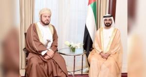 محمد بن راشد وأسعد بن طارق يستعرضان دعم العلاقات الأخوية بين السلطنة والإمارات