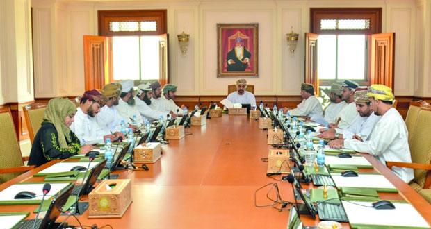 مكتب مجلس الشورى يناقش عددا من الردود الوزارية
