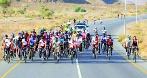 ختام مثير لسباق الدراجات الهوائية بولاية شناص