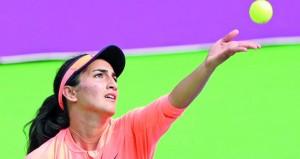 النبهانية تبلغ نصف نهائي بطولة جواليور الدولية للنساء