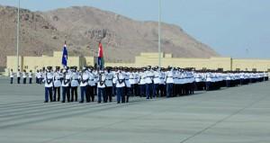 شرطة عمان السلطانية تحتفل بافتتاح وحدة شرطة المهام الخاصة بنزوى وتخريج فصائل من المستجدين