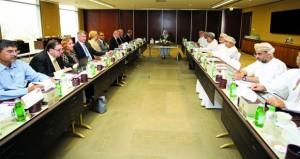 عقد اجتماع اللجنة الاستشارية الدولية الثالث لمشروع جامعة عُمان