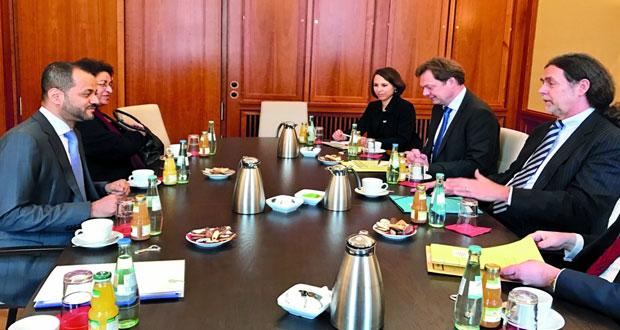 أمين عام وزارة الخارجية يلتقي مسؤولا بالخارجية الألمانية