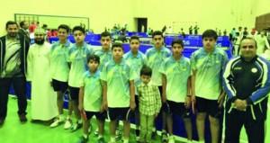 نادي صحم يتصدر منافسات دور الذهاب لبطولة أوليبان لكرة الطاولة