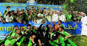 النهضة يعيش أفراح التتويج بلقبه الأول في بطولة كأس مازدا