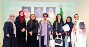 """رئيسة اللجنة العمانية للمرأة تنهي مشاركتها في ملتقى """"صحة المرأة بلياقتها"""""""