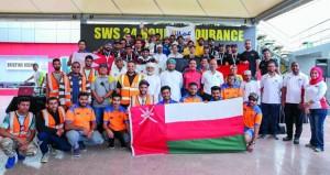 فريق عمانتل يتوج بلقب سباق التحمل لمنافسات الكارتنج وأيس البحريني ثانيا وزين ثالثا